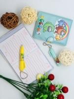 Детский набор блокнот 8,5х10,5 см и ручка