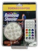 Беспроводная RGB LED лампа для ванной и бассейна RAINBOW SHOWER