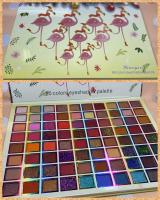 Палетка ТЕНЕЙ фламинго 80 colors 105/045