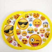 Бумажные тарелки 10 шт праздничные детские 18 см