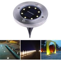Disk light фонарь на солнечной батарее
