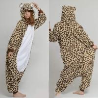 Кигуруми пижамка для взрослых Леопард