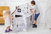 Домик-раскраска картонный 110 см 1397.07