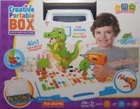 Мозаика конструктор Creative Box 4 в 1 681A 198 деталей
