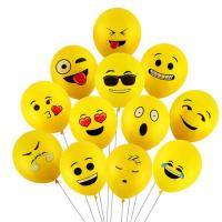 Набор из 10 шариков Смайликов