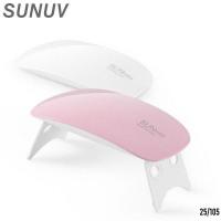 Гибридная лампа для полимеризации гель лака mini 9W UV LED
