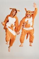 Кигуруми для взрослых пижамка Кенгуру