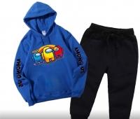 Детский костюм AMON с синей кофтой Xi