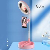 Складная кольцевая лампа со штативом Mai Appearance, 30-58 см