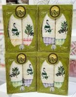 Набор из двух вафельные полотенец OLIVA