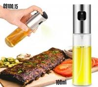 Бутылка с дозатором и распылителем для масла, спрей для масла и уксуса, 100мл, Skyproject