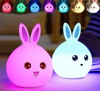 Ночник-лампа Nifty Bunny silicone lamp