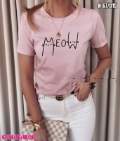Футболка MeoW розовая SV