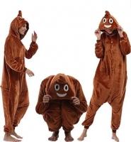 Кигуруми для взрослых пижамка Какашка